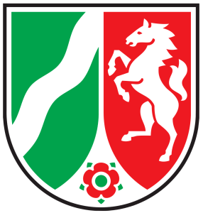 Wappen Land Nordrhein-Westfalen