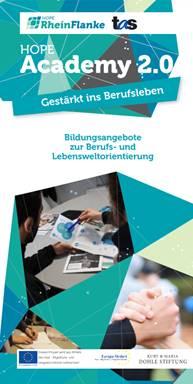 HopeAcademy 2.0 Titelseite Flyer