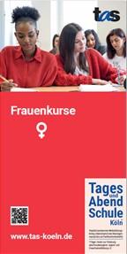 "TAS-Flyer ""Frauenkurse"""