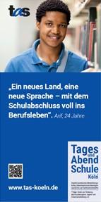 """TAS-Flyer """"Geflüchtete"""""""