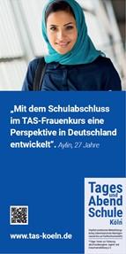 """TAS-Flyer """"Geflüchtete Frauen"""""""